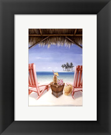 Framed Island Retreat Print