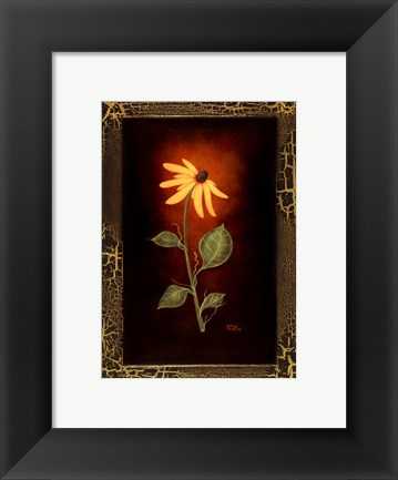 Framed Blooming Daisy Print