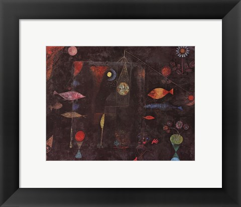 Framed Fish Magic Print