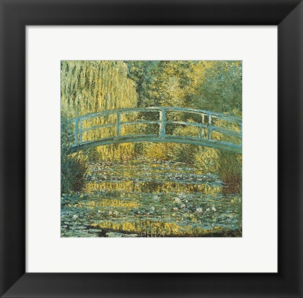 Framed Bassin aux Nympheas Print