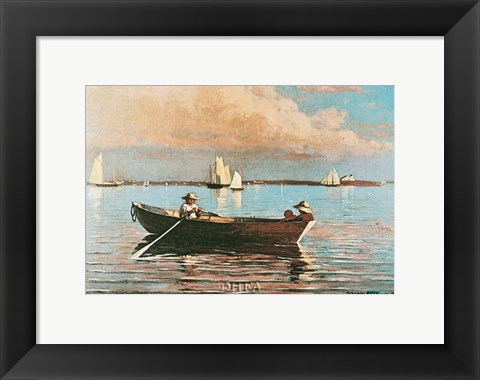 Framed Gloucester Harbor Print