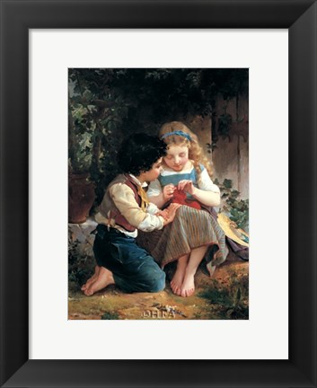 Framed Special Moment, 1874 Print