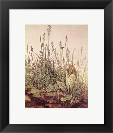 Framed Tall Grass Print