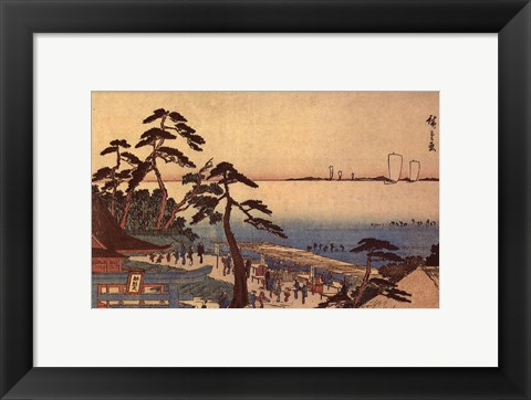Framed Kameya/Tea House Print