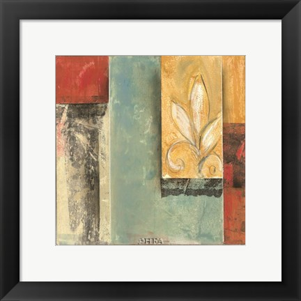 Framed Tapestries V Print