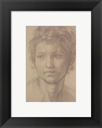 Framed Study for San Giovanni Print