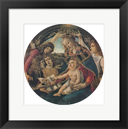 Framed Crowning of the Virgin (Magnificat) Print