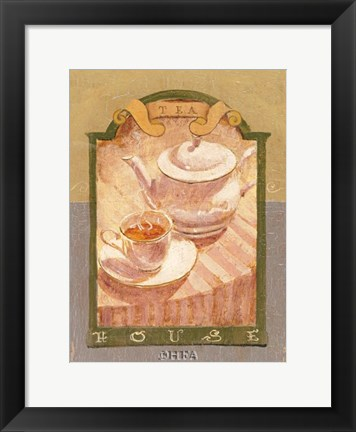 Framed Tea House Print