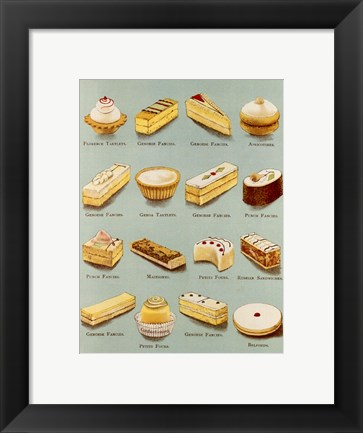 Framed Variety of Fancies Print