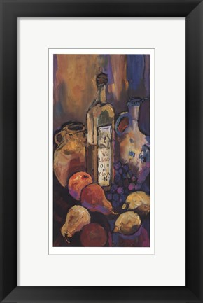 Framed Tuscan Kitchen II Print