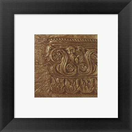 Framed Copper Capital Icon Print