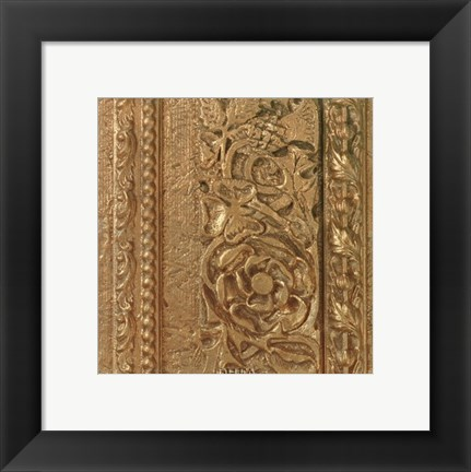 Framed Copper Banded Frieze Print