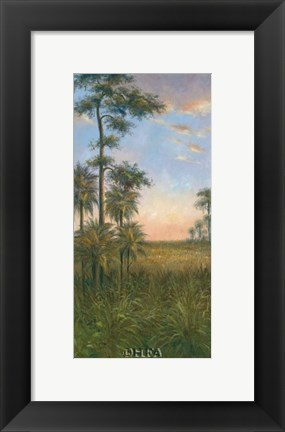 Framed Tropical Serenity II Print