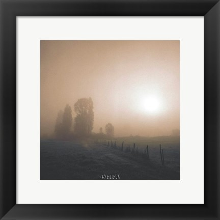 Framed Bordeaux Morning Print