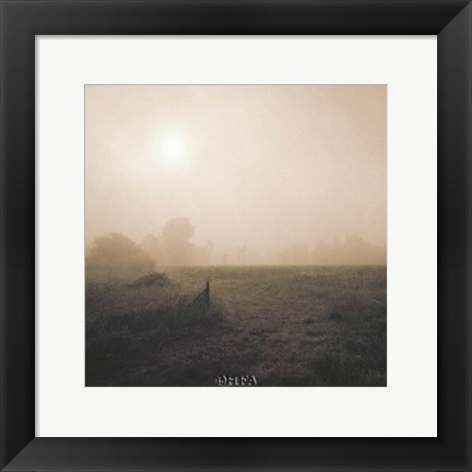 Framed Bordeaux Sunrise Print