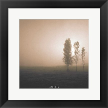 Framed Bordeaux Trees Print