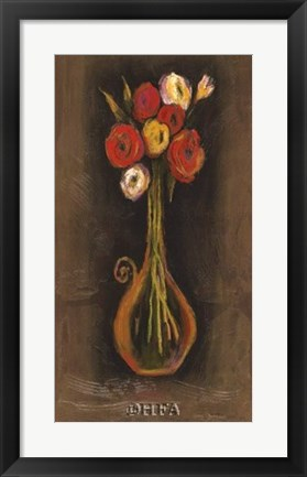 Framed Sorrento Still Life I Print