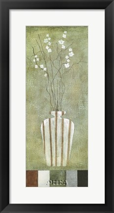 Framed Alfresco Flowers II Print