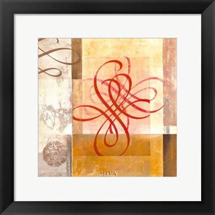 Framed Arabesque VIII Print