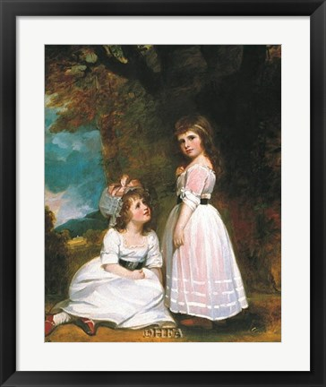 Framed Beckford Children Print
