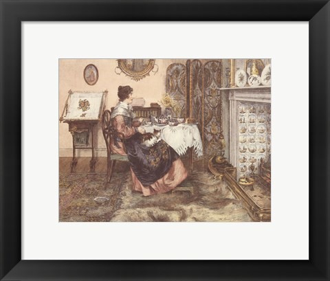 Framed Spinster Print