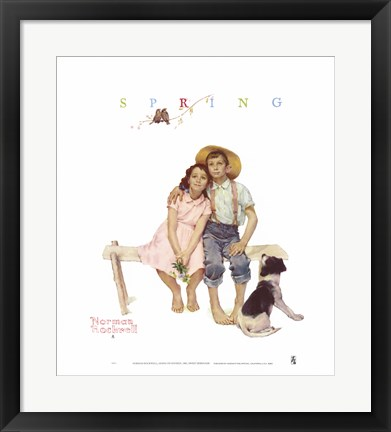 Framed Sweet Serenade Print
