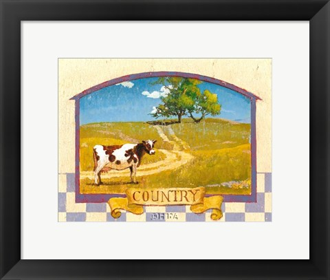 Framed Country Print