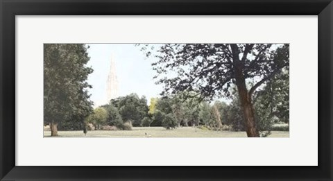 Framed Salisbury Cathedral Print