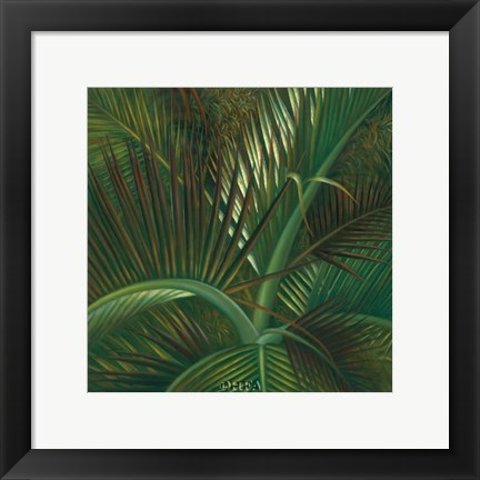 Framed Exotic Passage Print