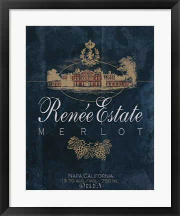 Framed Renee Estate Print
