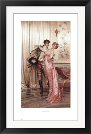 Framed Embrace Print