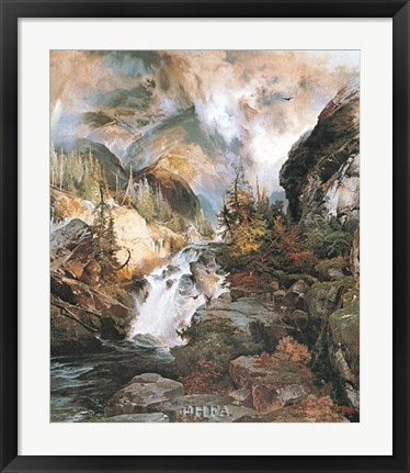 Framed Children of the Mountain Print