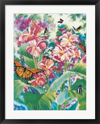 Framed Butterfly Ballet Act II Print