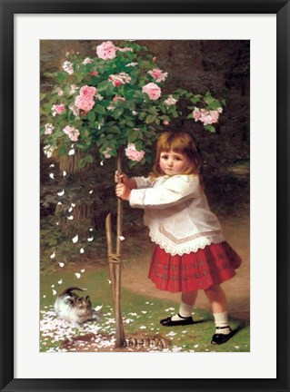 Framed Young Gardener Print