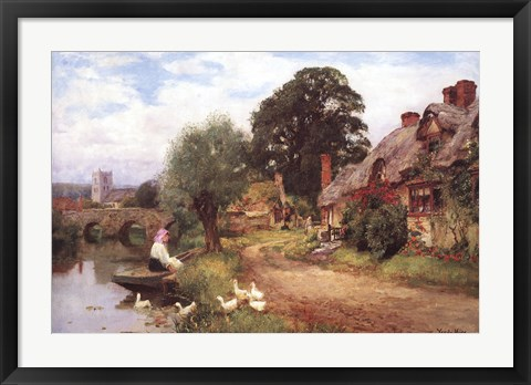 Framed Summer Idyll Print