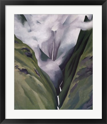 Framed Waterfall  No. III 'Iao Valley Print