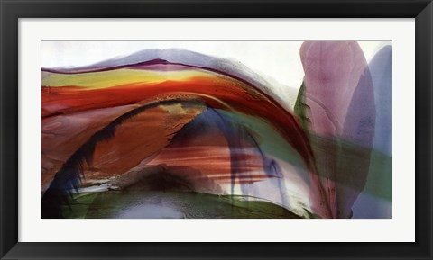 Framed Phenomena Waves Without Wind, 1977 Print