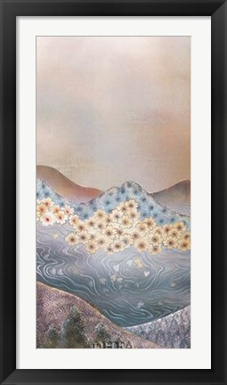 Framed Mountain Scene - Right Print