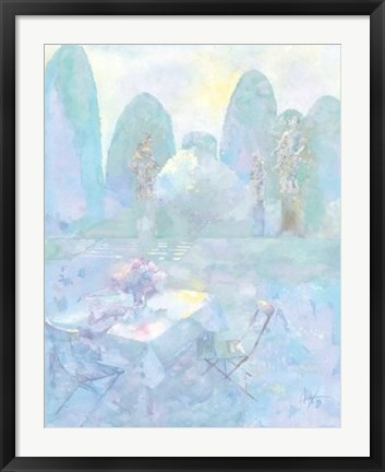 Framed Dream Garden Print