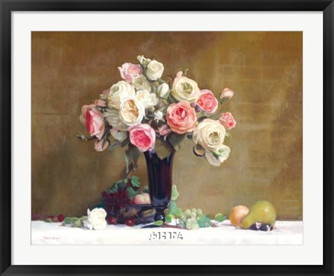 Framed Summer Bouquet Print