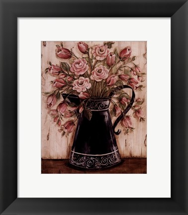 Framed Ladies in Black II Print