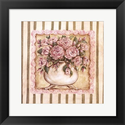 Framed Pink Ladies II Print