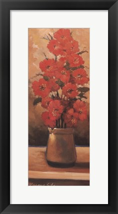 Framed Potted Floral III Print
