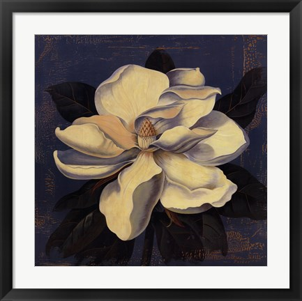 Framed Glowing Magnolia Print