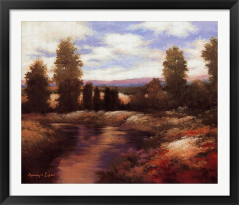Framed Warm Spring II Print