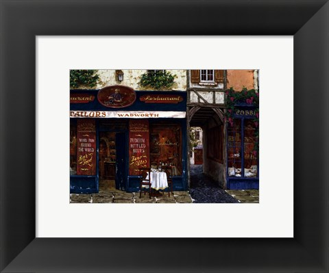 Framed Tailors & Wadworth Print