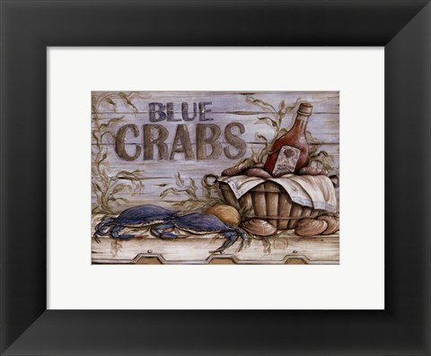 Framed Fisherman's Catch II Print