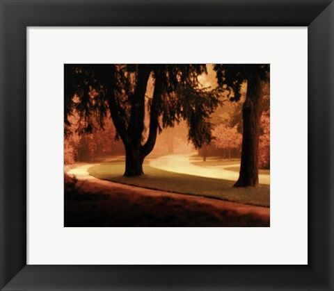 Framed Around The Bend Print
