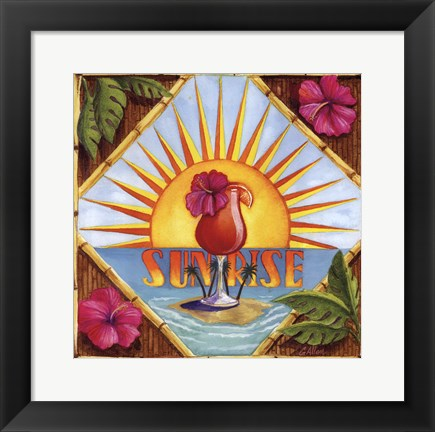 Framed Sunrise Print