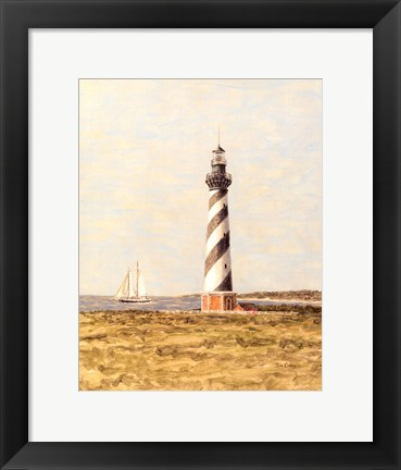 Framed View from the Lighthouse II Print